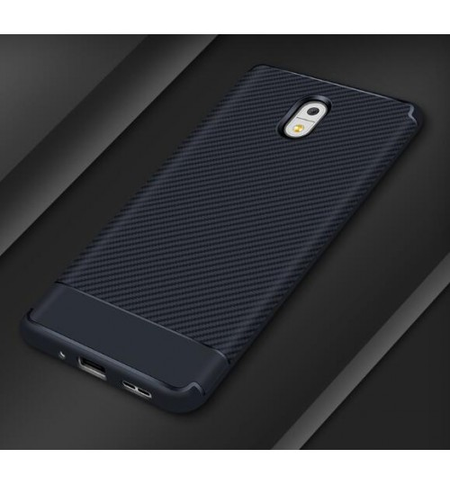 100% authentic 906b5 9eb6c Buy Nokia 6 case impact proof rugged case with carbon fiber online ...