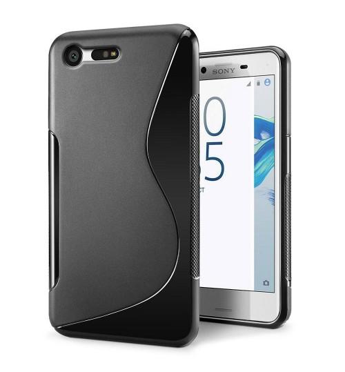 Sony Xperia X Compact  case TPU gel S line case
