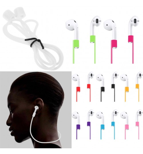 AirPods Silicone Strap Anti-Lost Ear Loop Strap String Rope