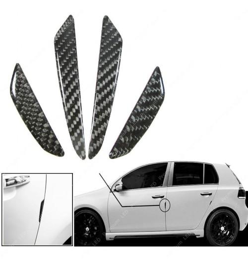 Flexible Car Door Guards Carbon Fiber Trim Stickers