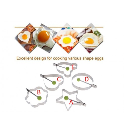Egg Fried Ring Mould Kitchen Cooking Tools Mold