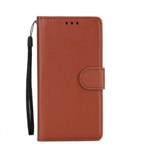 Silk Texture Leather Wallet Case-155mm