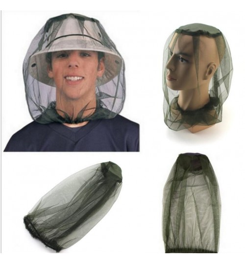 Mosquito Hat Net Head Neck Protector Bee Bug Mesh Insect