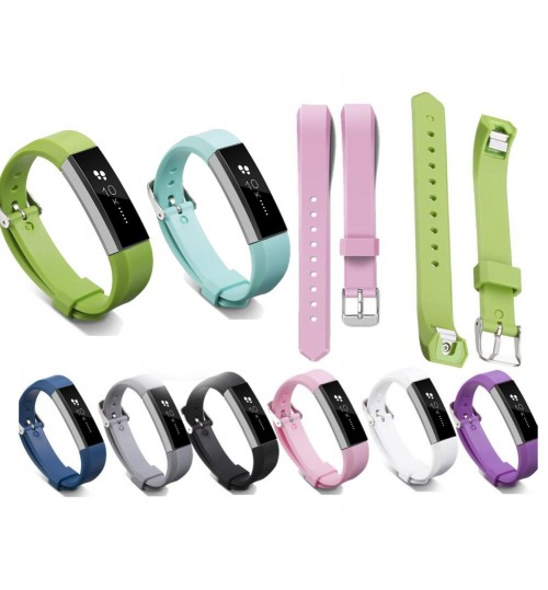 Fitbit Alta Silicone Band Replacement Wrist Band compatible
