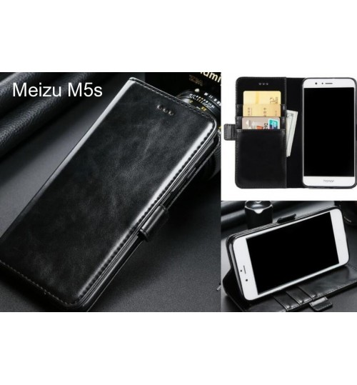 Meizu M5s case executive leather wallet case