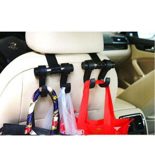 Car seat headrest hook Back Hook hanger organiser for bags
