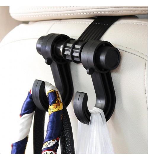 Car seat headrest hook Back Hook hanger organiser for bags