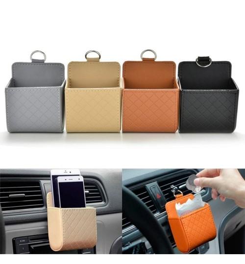 Car Storage Bag Air Conditioner Vent Holder