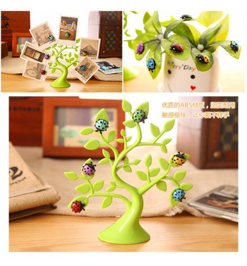 Lucky Tree Multifunctional  Magnetic Sticker Fridge Photo Magnet