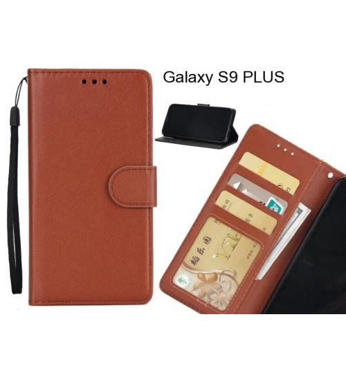 Galaxy S9 PLUS  case Silk Texture Leather Wallet Case