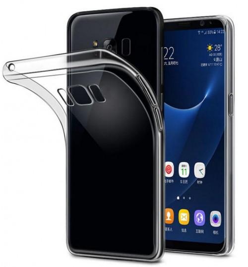 Galaxy s8 case crystal clear gel ultra thin+SP
