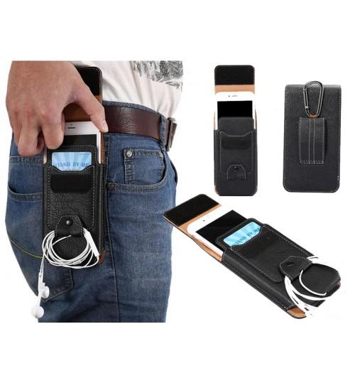 Universal Flip Leather Phones Holster Case
