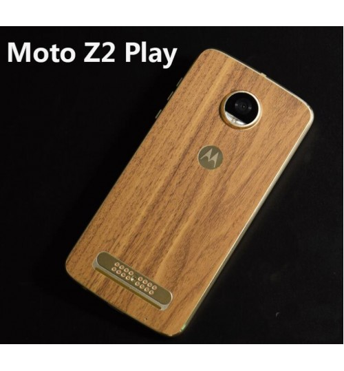MOTO Z2 PLAY Back Case Cover Graining back Screen Protector