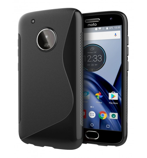 MOTO G5 Plus case TPU gel S line case
