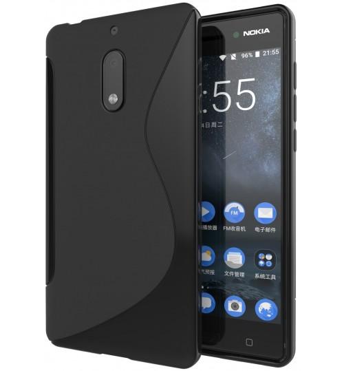 Nokia 6  case TPU gel S line case