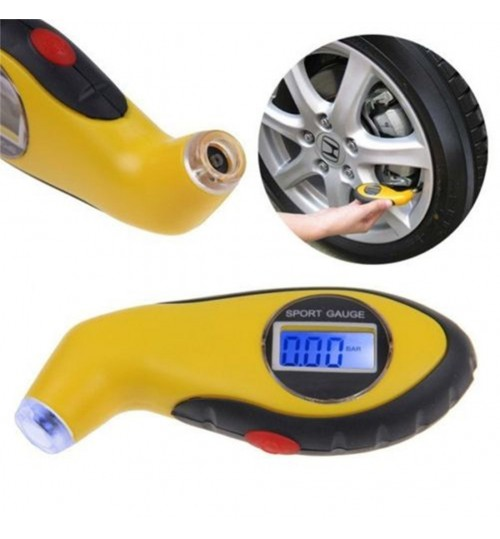 Tire Tyre Air Pressure Gauge Tester Tool for Auto