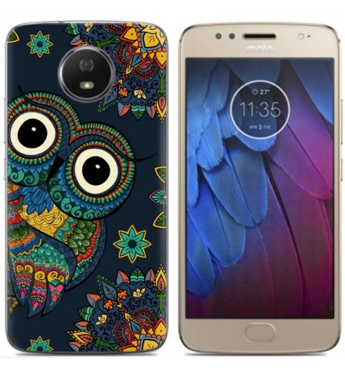 Moto G5S case Ultra Slim Soft Gel TPU printed case soft cover