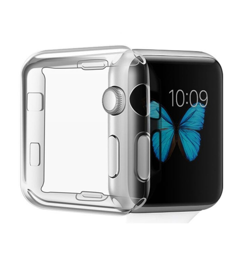 Apple Watch 2/3  iWatch 42mm Case TPU Screen Protector