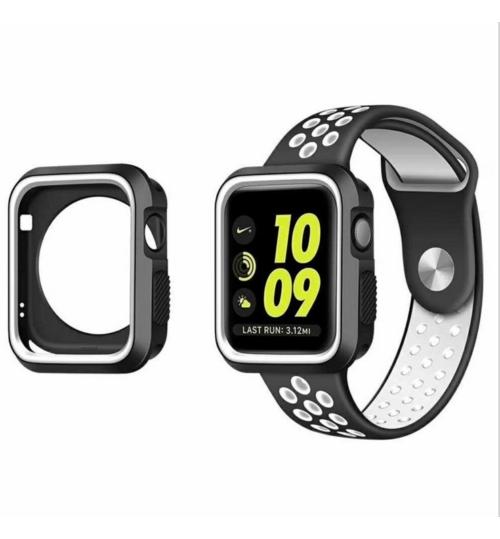 Apple watch iwatch Case Cover gen 38mm Protective Gel Silikon Bumper S3/2/1