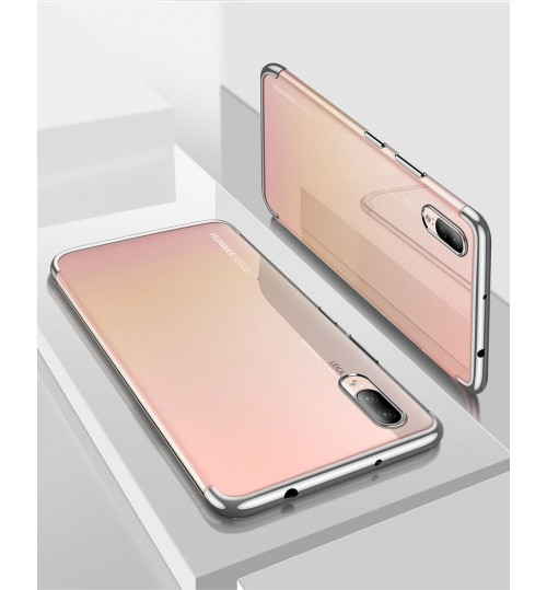 Huawei P20 Pro  case bumper  clear gel back cover