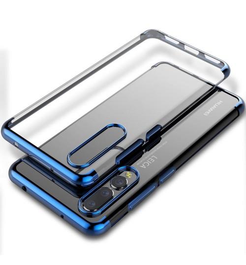HUAWEI  P20 case bumper  clear gel back cover