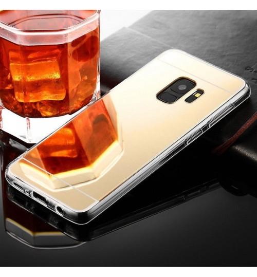 Galaxy S9  Soft Gel TPU Glaring Mirror Case