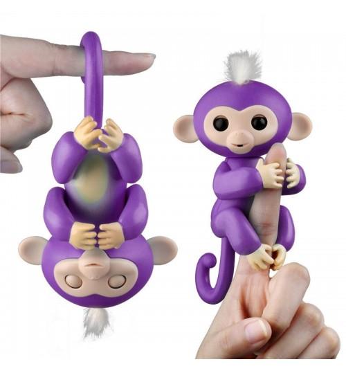 Interactive Finger Pet Happy Monkey