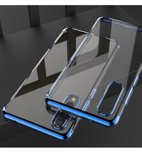 Huawei P20 case Slim Bumper Soft Clear TPU Gel Back Cover Case