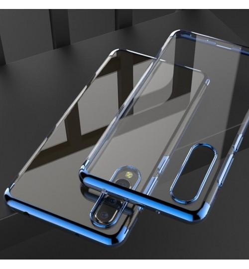 Huawei P20 Pro case Slim Bumper Soft Clear TPU Gel Back Cover Case