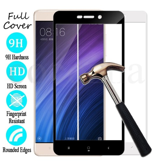 Xiaomi Redmi 4X  Tempered Glass FULL  Screen Protector