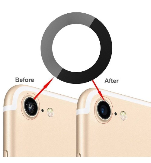 Back Camera Lens Glass Cover Adhesive Replace for iPhone 7G 8G