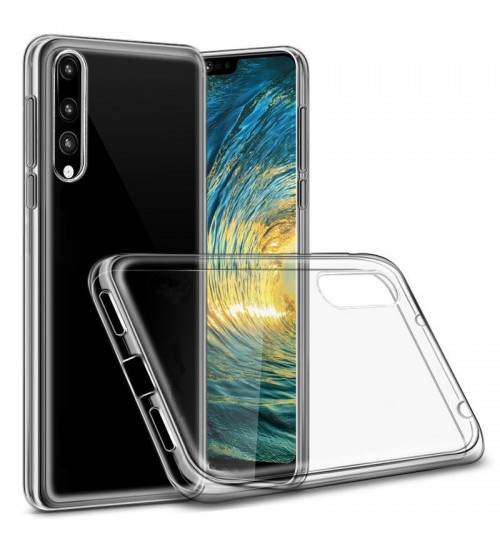 HUAWEI P20  case Soft Gel TPU Ultra Thin Clear