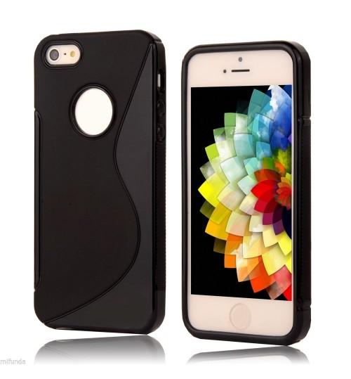 iPhone 5C case TPU gel S line case