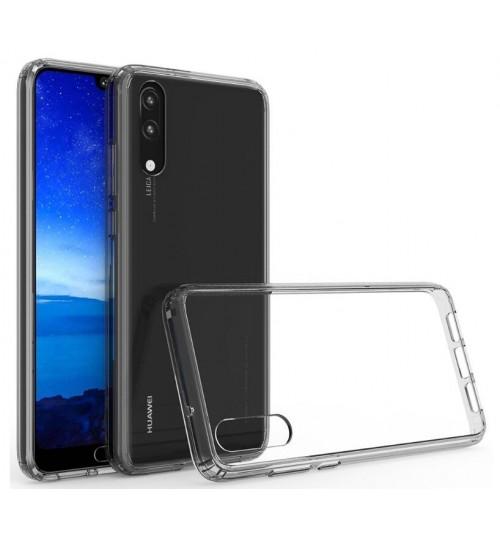 Huawei P20 Pro case bumper  clear gel back cover