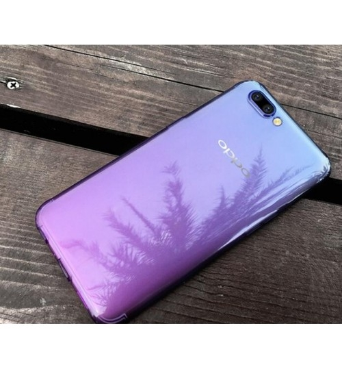 Oppo R11s  TPU Soft Gel Changing Color Case