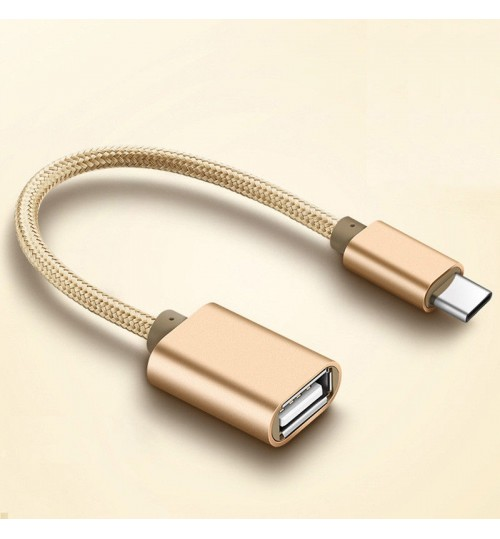Micro USB Male to USB 2.0 Female  Adapter