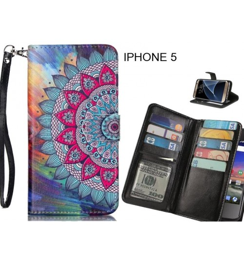 IPHONE 5 Case Multifunction wallet leather case
