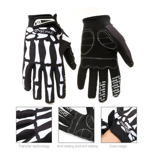 Sports Motorcycle Gloves  Full Finger Gloves Bicycle