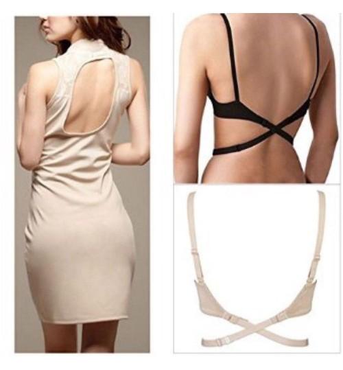 Low Back Backless Bra Strap