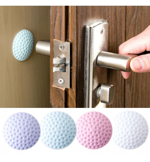 Wall Mute Door sticker Rubber Fenders Lock Pad Protective