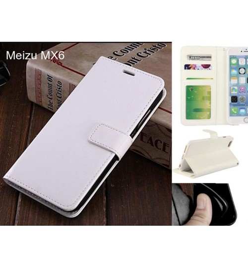Meizu MX6 case Fine leather wallet case