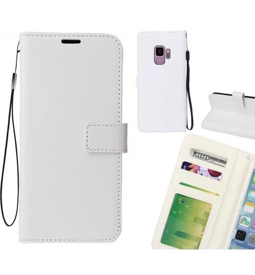 Galaxy S9 case Fine leather wallet case