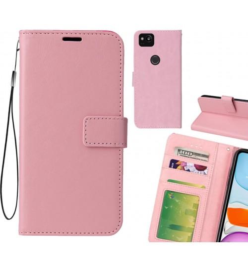 Google Pixel 2 case Fine leather wallet case