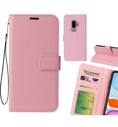 Galaxy S9 PLUS case Fine leather wallet case