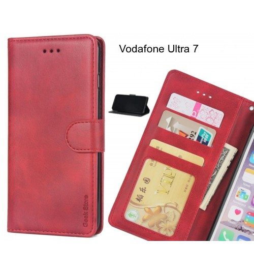 Vodafone Ultra 7 case executive leather wallet case
