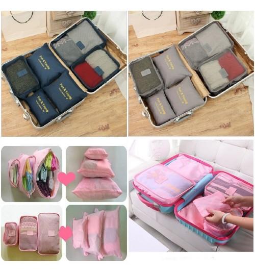 Travel Luggage Organiser Bags 6PCS