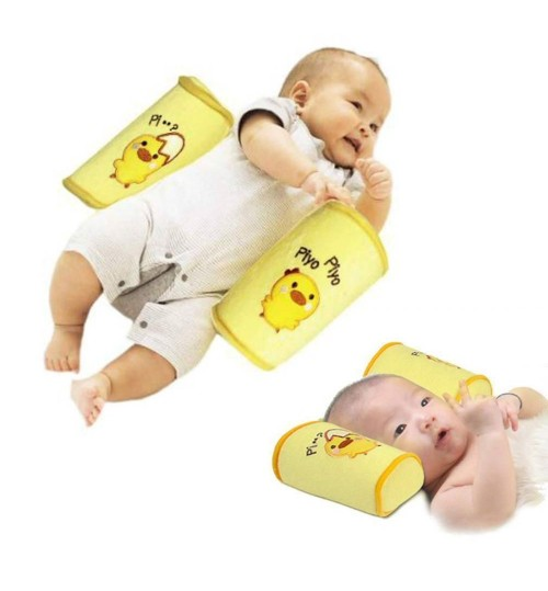 Baby  Toddler Safe Cotton Anti Roll Pillow