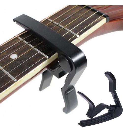 Guitar Quick Change Tune Clamp Key Trigger Capo For Acoustic Electric Guitar