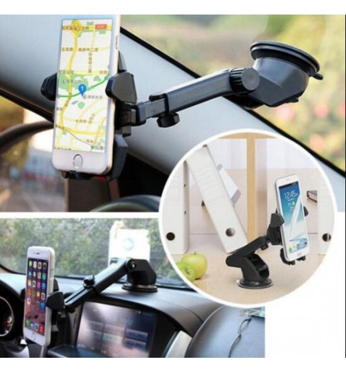 Long Neck One-Touch Car Mount Holder