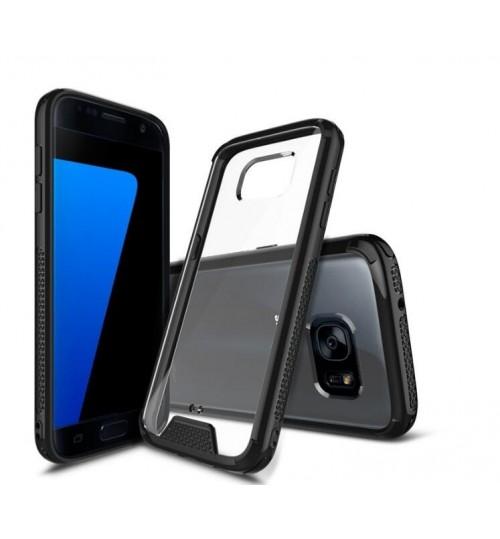 Galaxy Note 5  case bumper  clear gel back cover